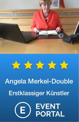 Angela Merkel Double