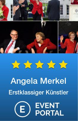 Angela Merkel Imitatorin/Parodistin