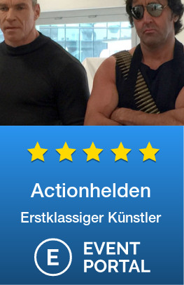 Actionhelden - Rambo / Silvester Stallone Double